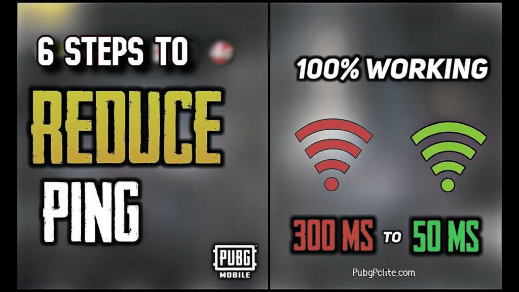 How to reduce Ping In PUBG Mobile? What is Latency or ping?
