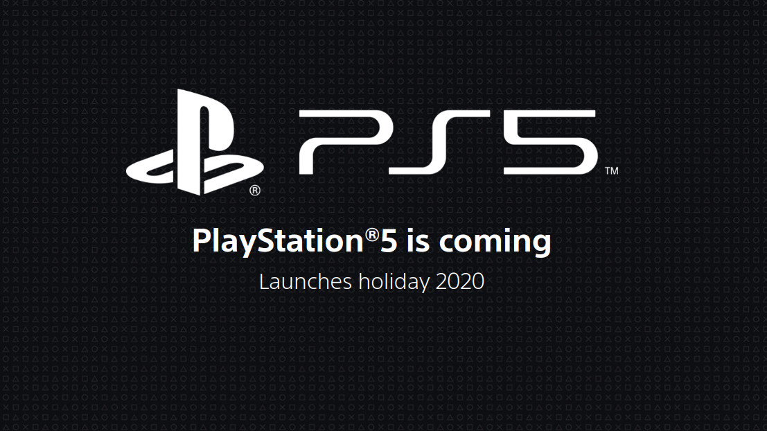 PlayStation 5 release date banner