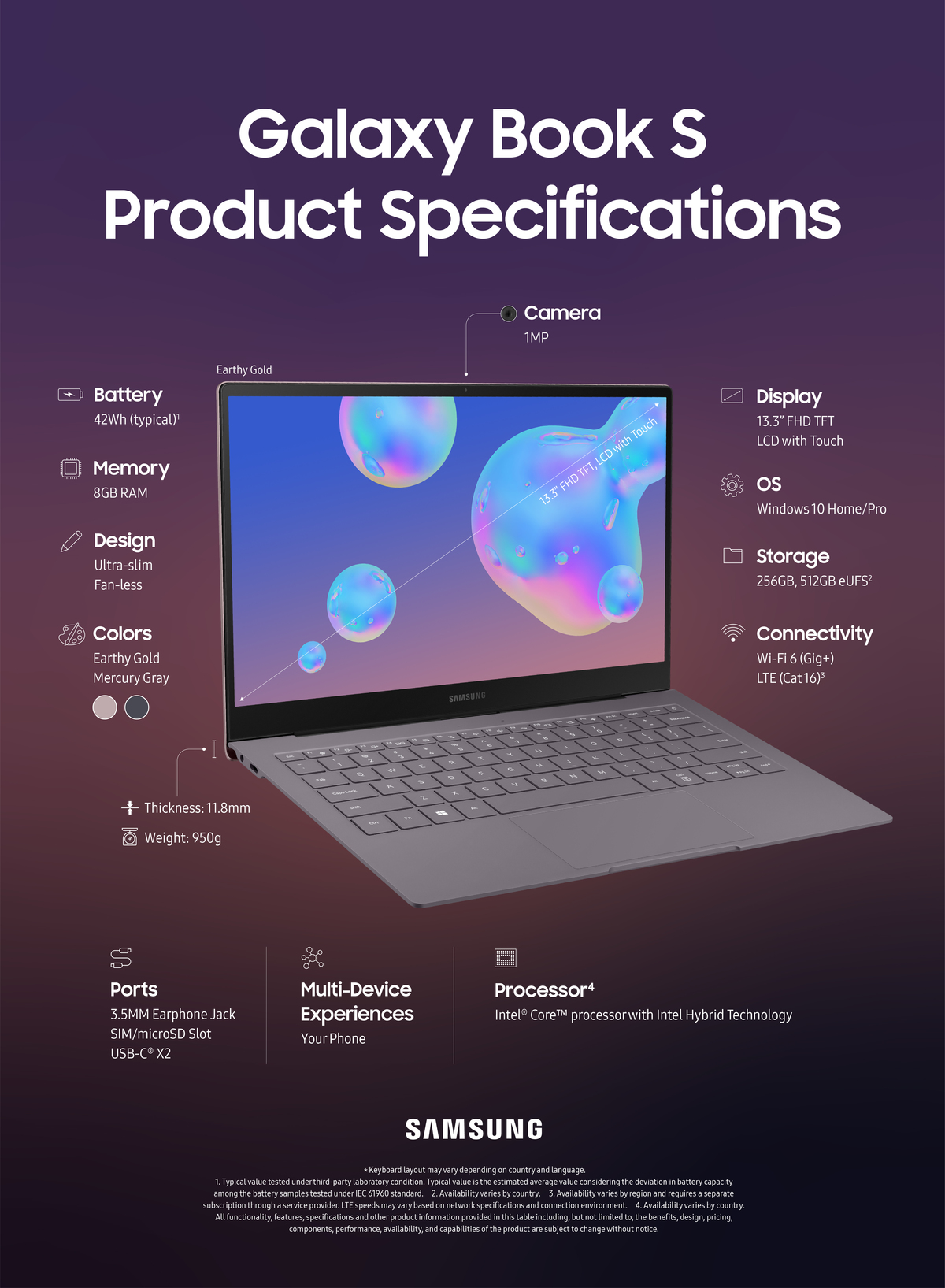 Samsung book s product specifications earthy gold final