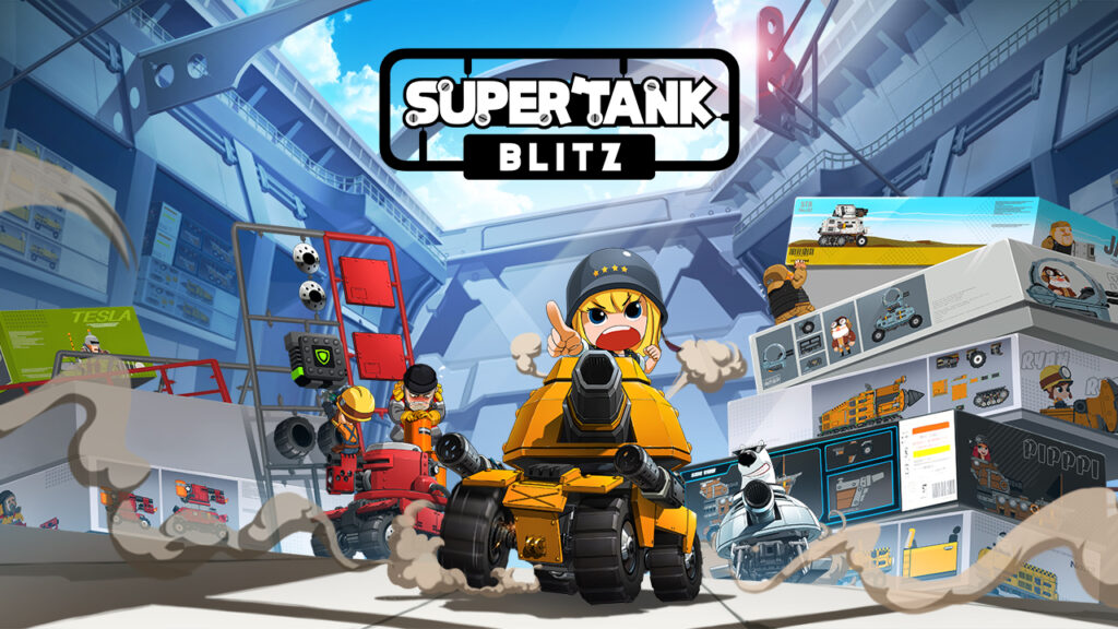 Super Tank Blitz is Coming in July, Pre-Registration Open Now