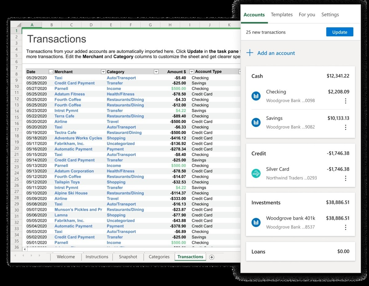money in excel 2 microsoft