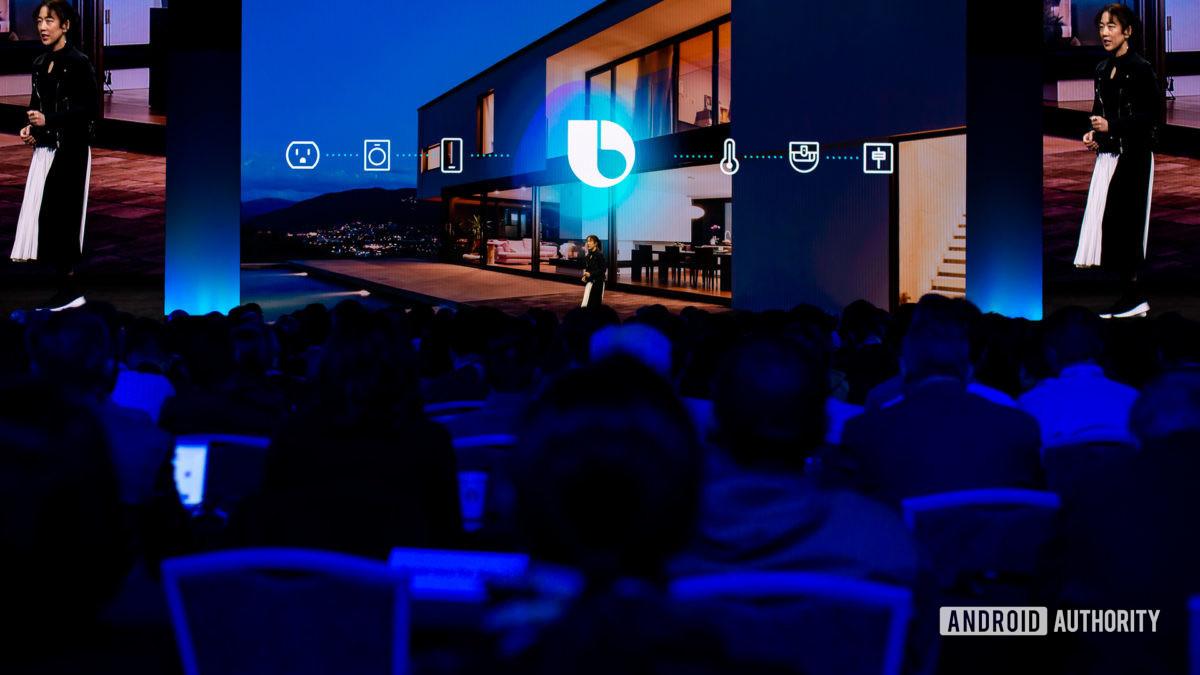 Bixby logo at Samsung Developer Conference 2019 - Digital assistants
