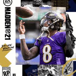 The Deluxe Edition of <em>Madden NFL 21</em>.