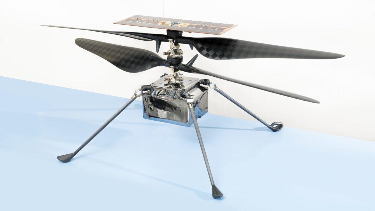 NASAs Ingenuity Mars Helicopter