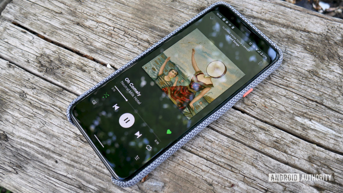 google pixel 4 xl revisited spotify