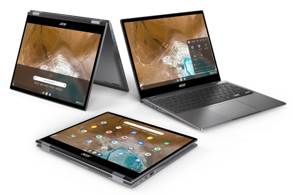 The Chromebook Spin 713 is Acer's high-end model for work or home