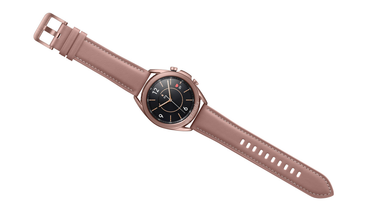 Samsung Galaxy Watch 3 Bronze Leaked Image