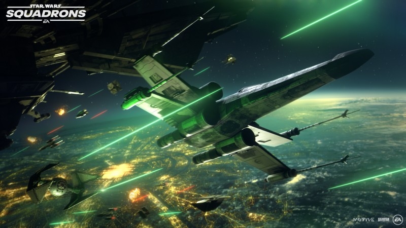 Take Your First Look At Star Wars: Squadrons
