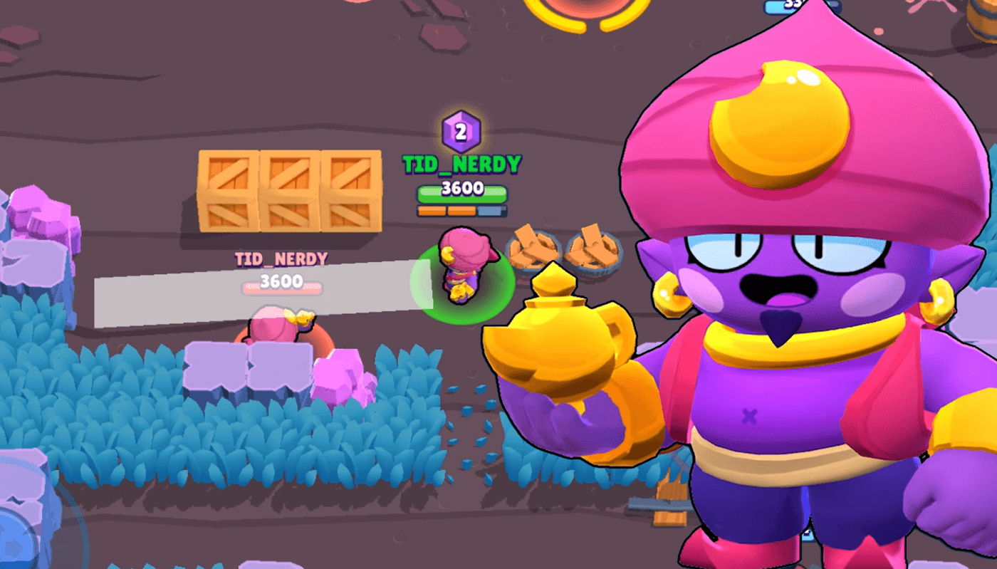 20+ Tips To Play With/Against Gene   Brawl Stars UP!