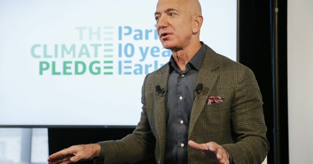 Amazon boosts climate commitments and greenhouse gas emissions