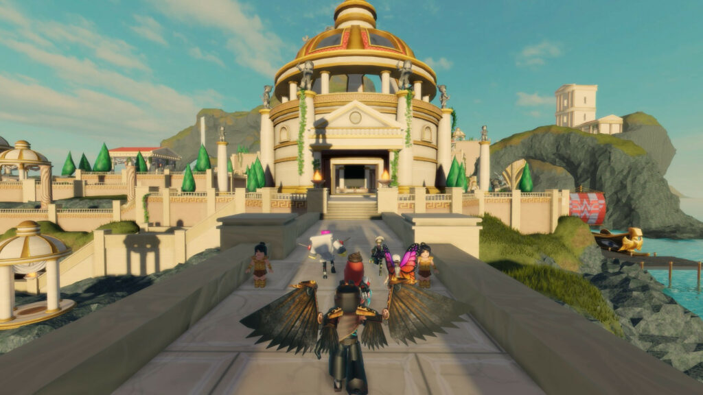 Explore DC's Wonder Woman Experience on Roblox