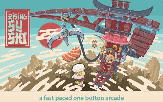 Rising Sushi is a Casual Arcade Game About Stacking Sushi, Out Now