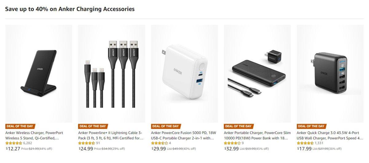 anker accessories deals