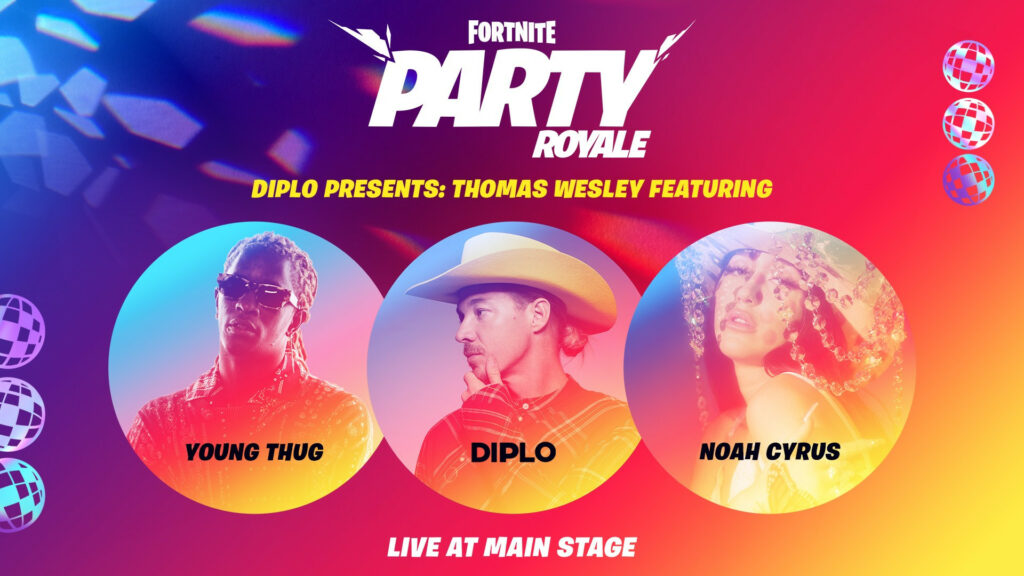 Diplo Presents: Thomas Wesley Fortnite Album Launch Party Featuring Young Thug and Noah Cyrus