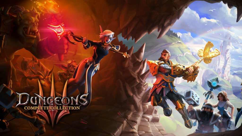 Embrace Your Inner Evil! Dungeons 3 – Complete Collection is Coming to Xbox One June 26
