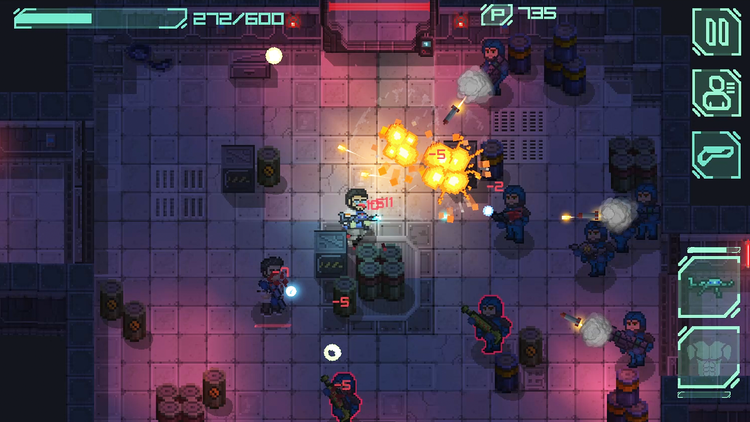 Endurance is the Prequel to Pixel-Art Horror Sci-Fi Shooter Ailment is out now