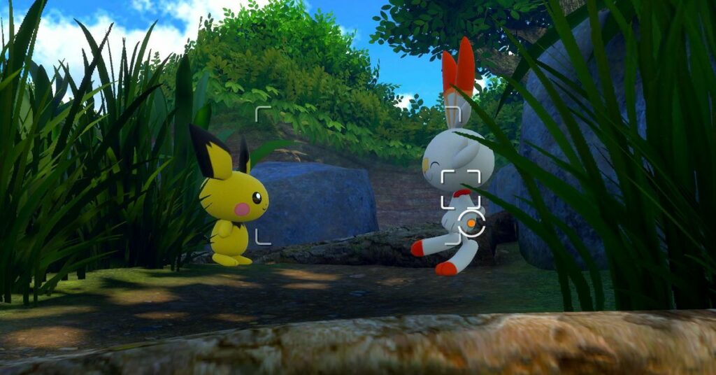 Comparing Pokémon Snap's graphics to Sword and Shield is silly