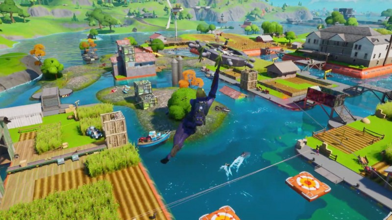 Fortnite's Latest Season Features A Watery Wasteland