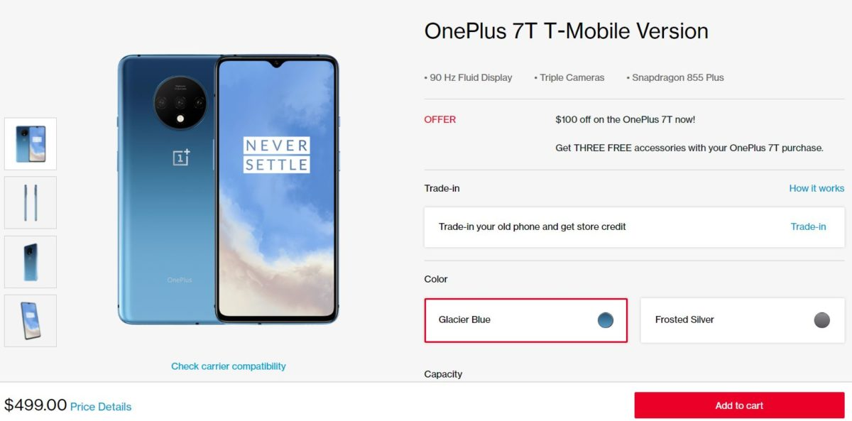 OnePlus 7T Deal