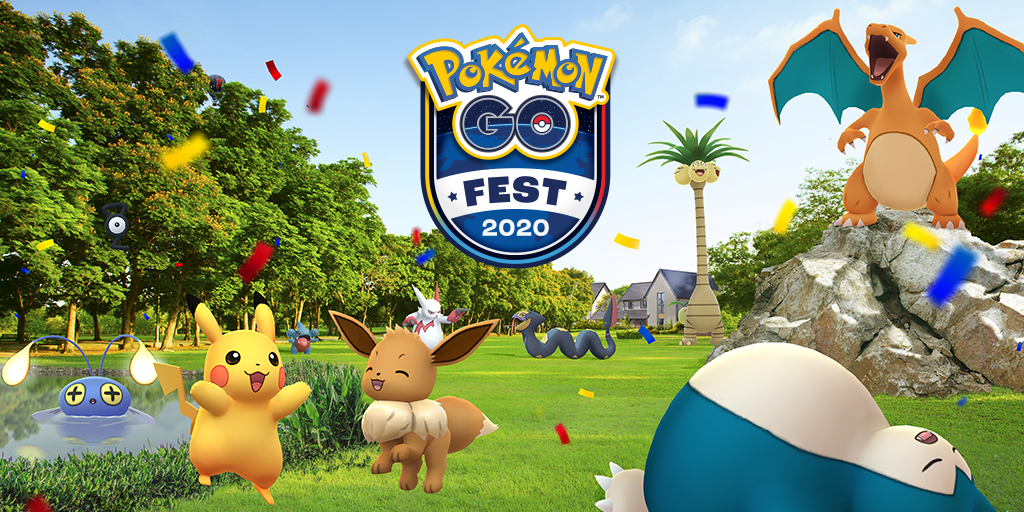 Here's the Plan for Pokemon Go Fest 2020 as Ticket Go on Sale