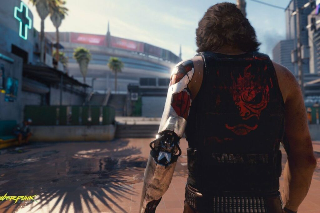 Latest Cyberpunk 2077 footage shows off a 'braindance' and more of the prologue