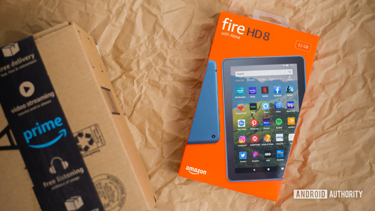 2020 Amazon Fire HD 8 review photos 2