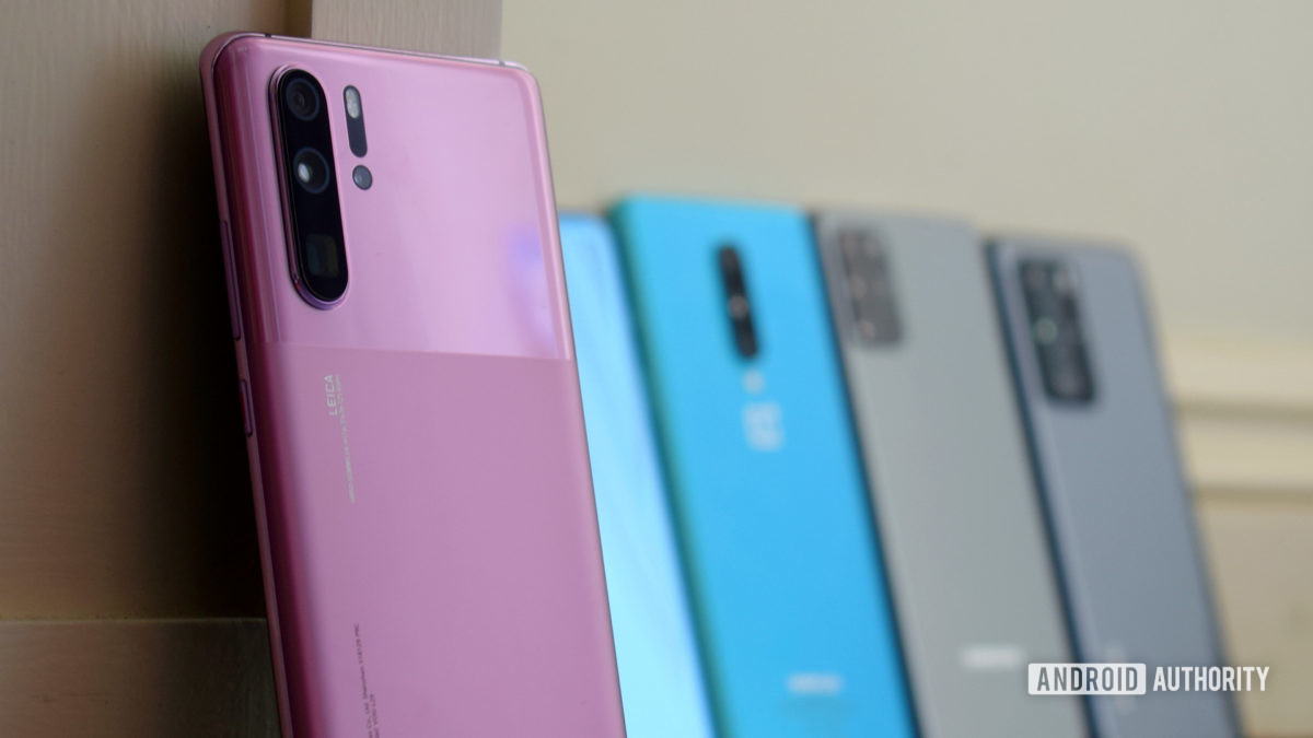 Huawei P30 Pro vs competition