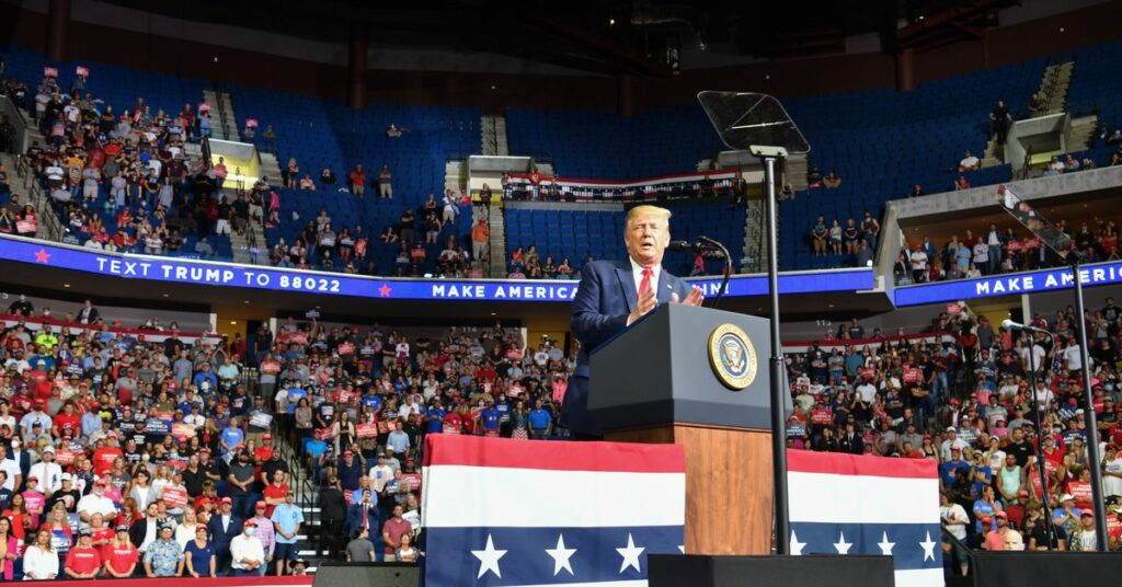 K-pop fans and TikTok teens say they reserved tickets for Trump's Tulsa rally to leave seats empty