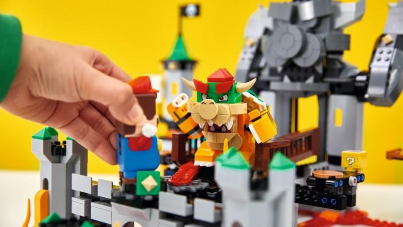 Lego Reveals Full Super Mario Product Line