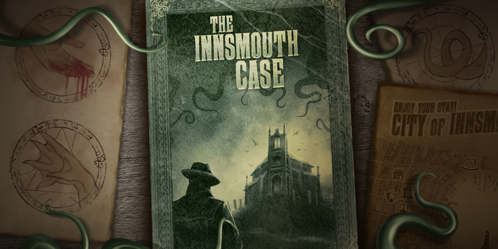 Lovecraftian Interactive Book The Innsmouth Case is Out Now on Android