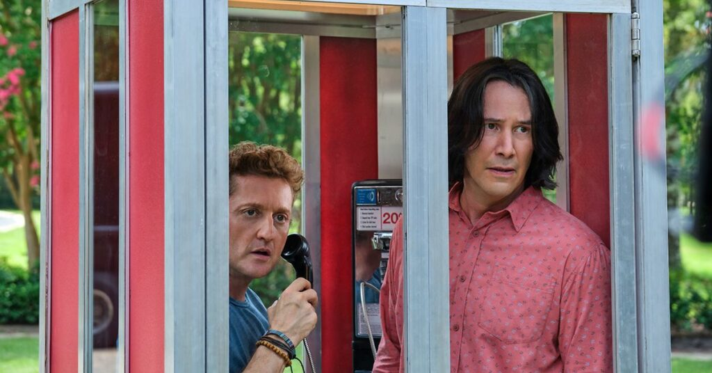 New trailers: Bill & Ted Face the Music, I'll Be Gone In the Dark, and more