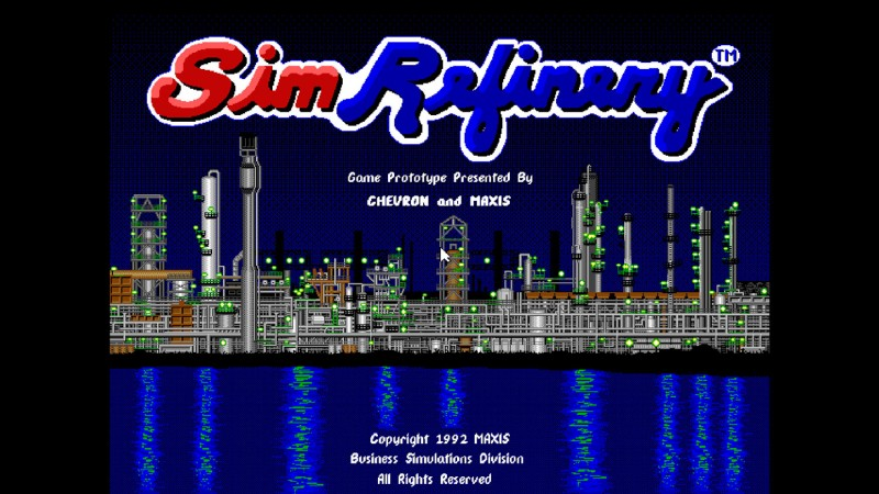 Obscure Maxis Game SimRefinery Now Playable