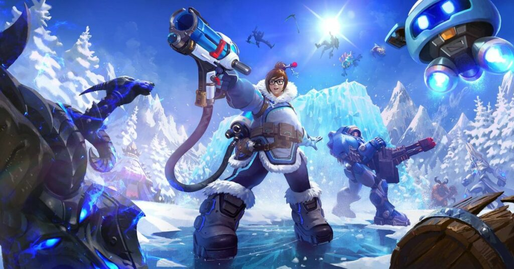 Overwatch's Mei added to Heroes of the Storm roster