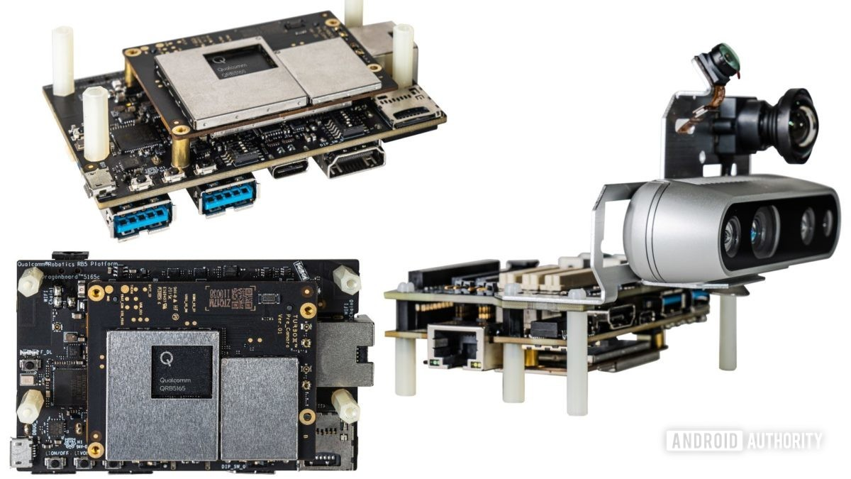 RB5 developer kits different angles