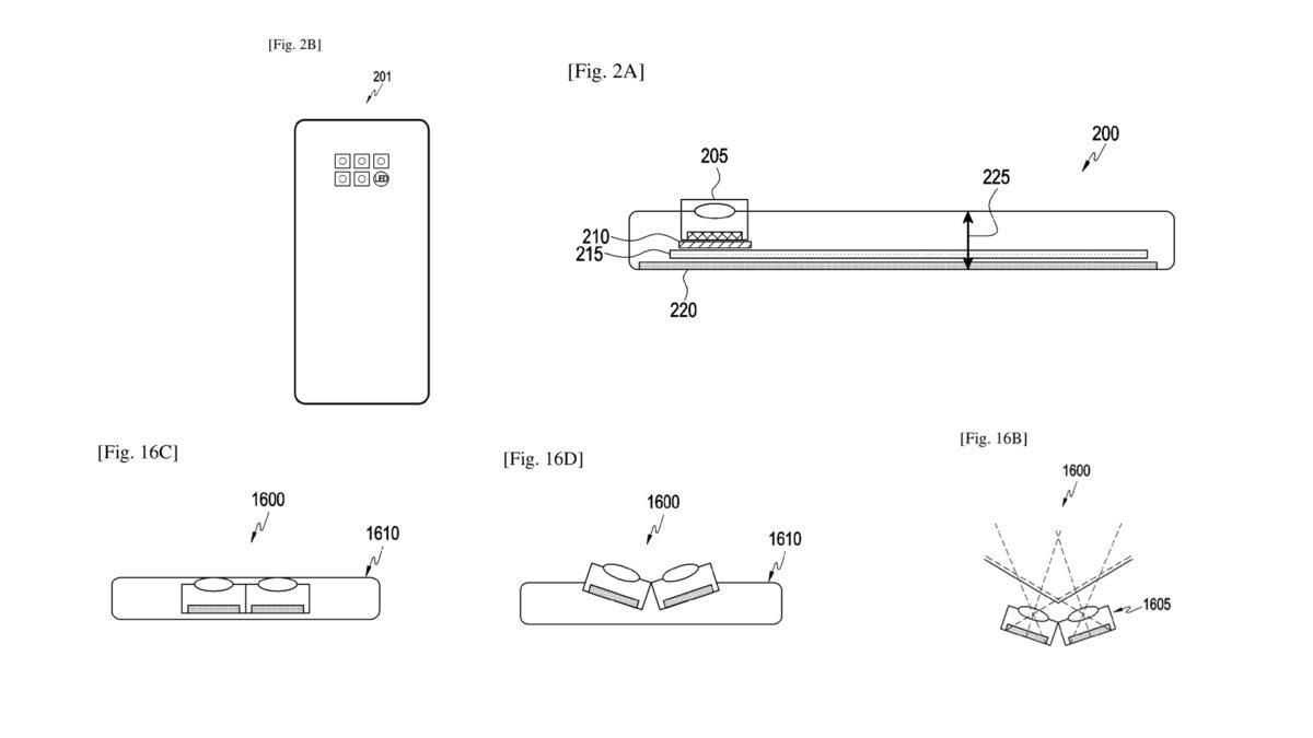Samsung Tilt Camera Patent