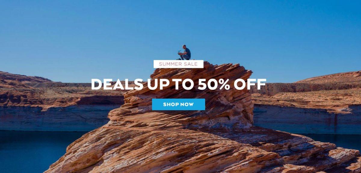 Nomatic Summer Sale Header image