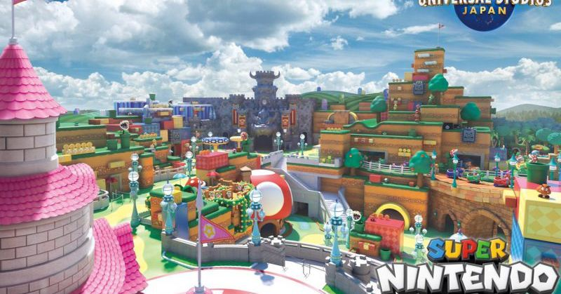 Super Nintendo World Japan's opening indefinitely delayed