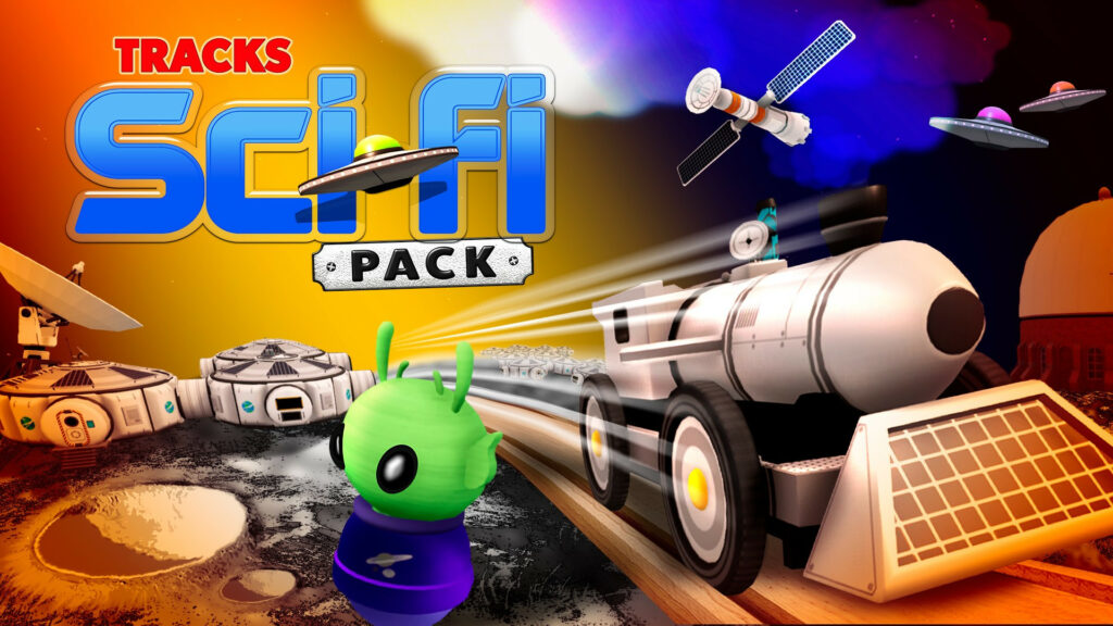 Take Your Imagination Out of This World with Tracks – The Train Set Game: Sci-Fi Pack DLC