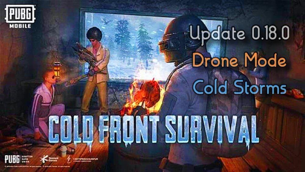 PUBG Mobile Arctic Mode Update 0.18.0 Cold Front Survival