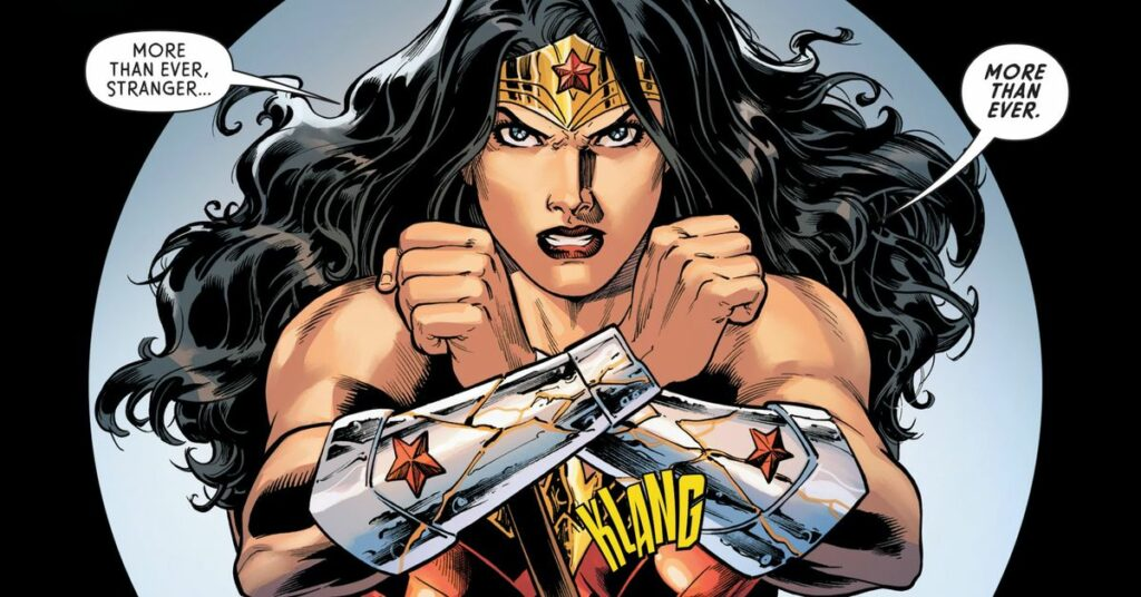 Wonder Woman is actually about to attack and dethrone God in new comic
