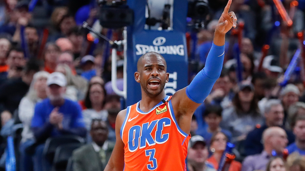 'Chris Paul dominated the game with his voice'
