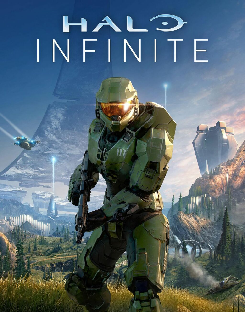 'Halo Infinite' Box Art All But Confirms Master Chief Is Getting A Grappling Hook