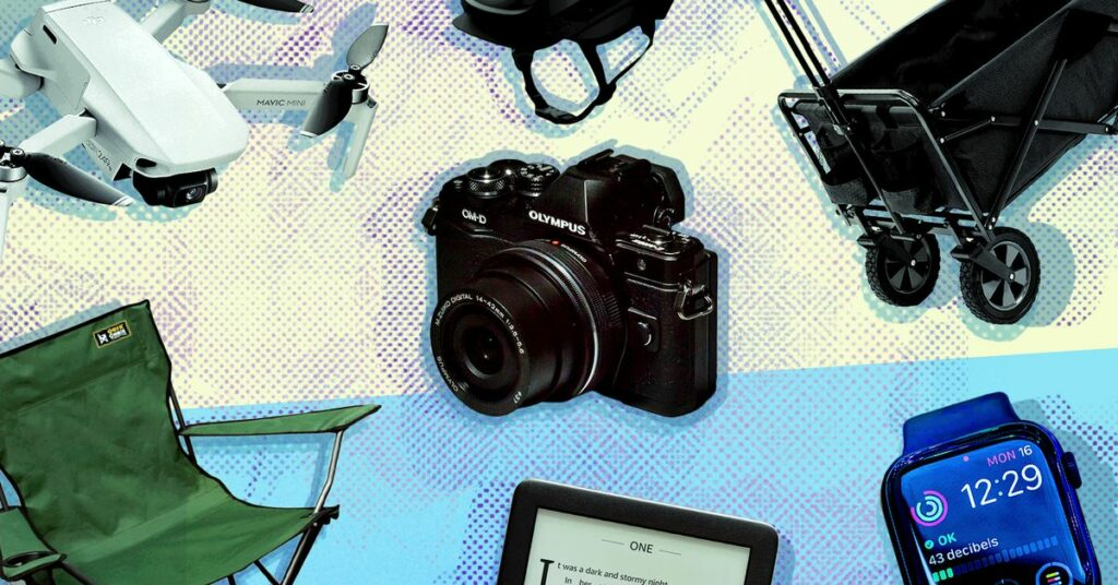 Summer tech: recommendations for gadgets, gear, and gizmos