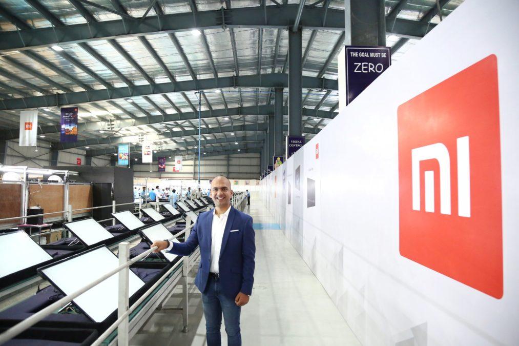 Mi TV lineup India factory