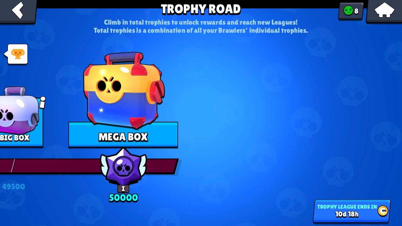 NEW UPDATE EXPANDED TROPHY ROAD OPENING BRAWL STARS - YouTube