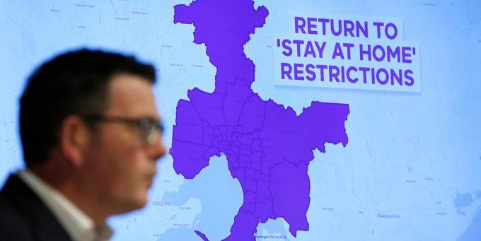A Melbourne, in Australia, ci sarà un lockdown di sei settimane