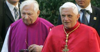 Joseph Ratzinger, dopo 7 anni il Papa emerito lascia il Vaticano per andare a salutare il fratello gravemente malato a Ratisbona