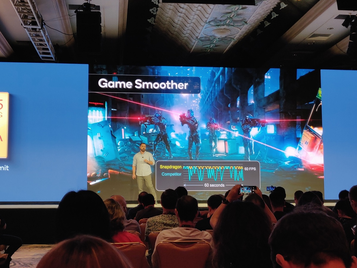 Qualcomm Snapdragon 865 game smoother