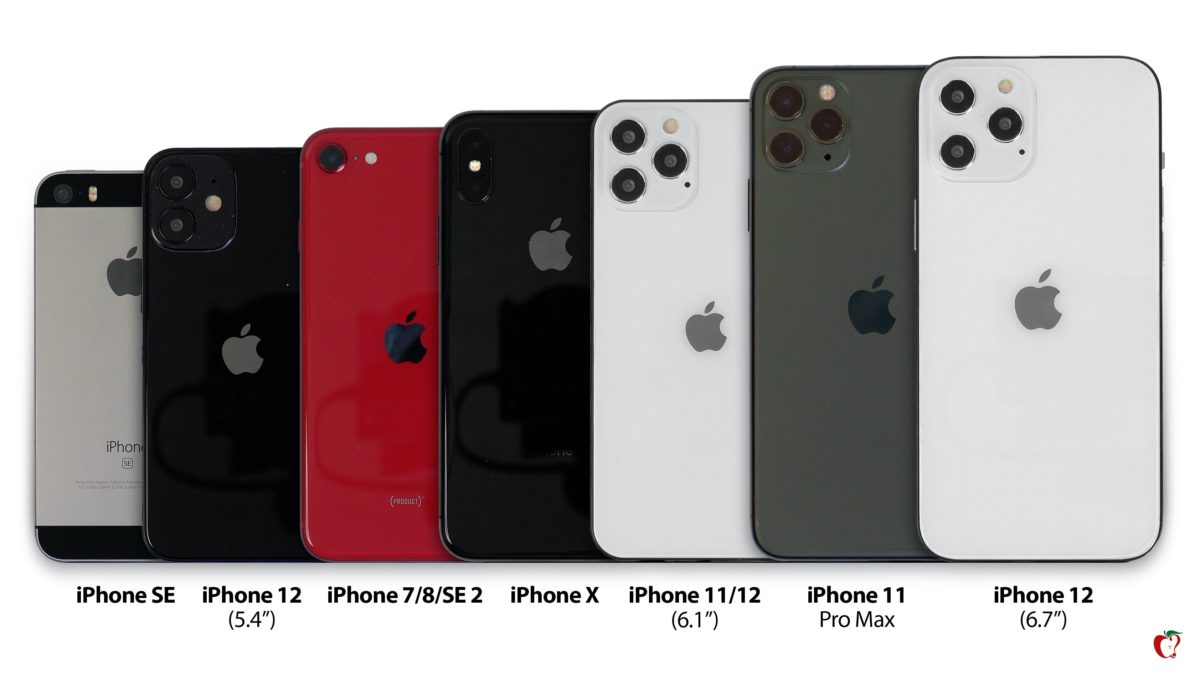 iphone 12 compared fullsize