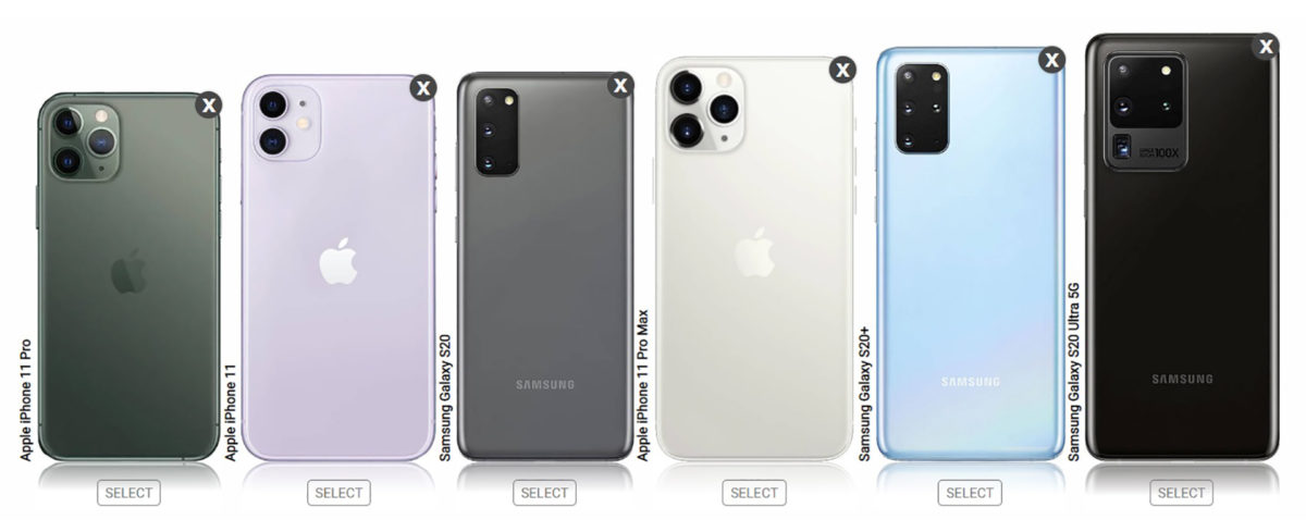 iPhone 11 vs Samsung Galaxy S20 Size Comparisons 1